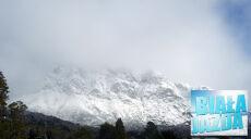 Deszczowy dzień w Alpach
