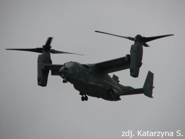 Amerykański Osprey w obiektywie czytelników Katarzyna S. / Kontakt 24