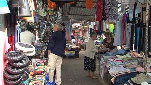 Bazar przy Banacha fot. Marcin Gula/tvnwarszawa.pl