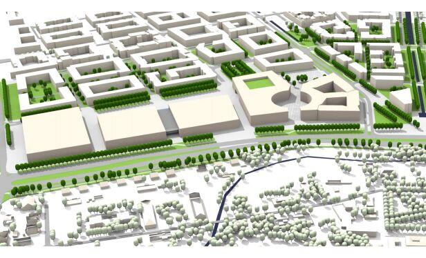Koncepcja zmian w planie zagospodarowania Miejska Pracownia Planowania Przestrzennego i Strategii Rozwoju