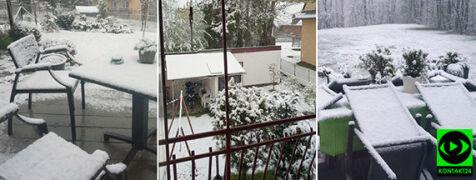 Śnieżny poranek w środku maja. Relacje internautów