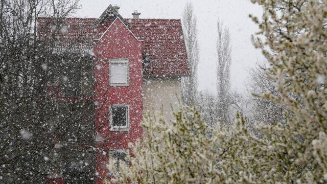 Pogoda na dziś: deszcz, deszcz ze śniegiem oraz śnieg