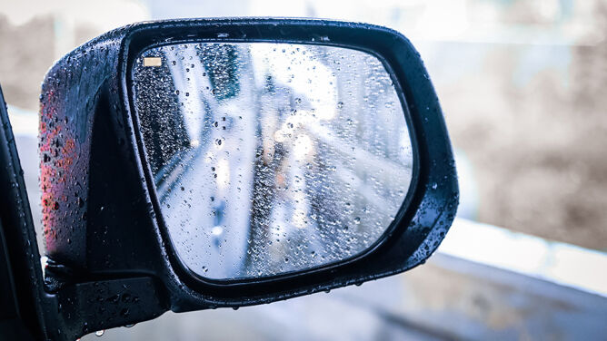 Deszcz miejscami utrudni jazdę