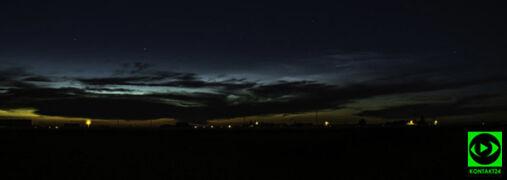 Świecące obłoki między Ziemią a Kosmosem. Uchwycili je Reporterzy 24
