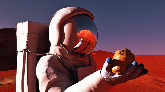 """Bilet w jedną stronę na Marsa? """"Wiele obiekcji i pytań"""""""