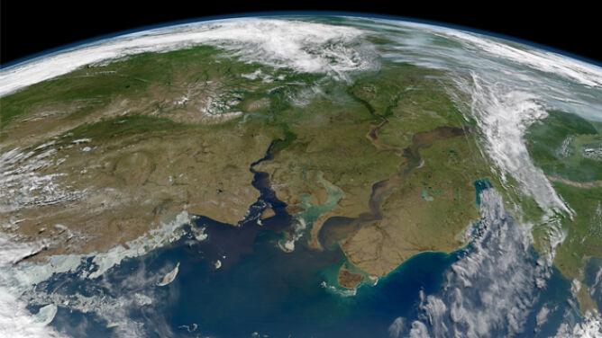Co wielkie rzeki niosą do Arktyki? Masy osadu w ujściach