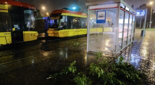 Sytuacja w Warszawie po przejściu burzy
