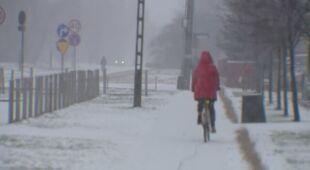 Śnieg w Łodzi