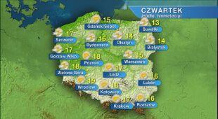 Pogoda na czwartek 21.05