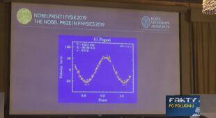 """Nobel w dziedzinie fizyki przyznany - materiał """"Faktów po południu"""""""
