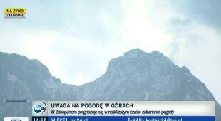 Turyści o przygotowaniach do wyjścia na szlak (TVN24)